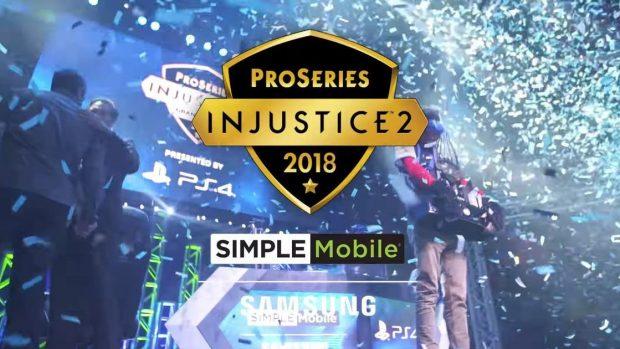 Samsung e Simple Mobile sono i due partner dell'edizione 2018 della Pro Series di Injustice 2.