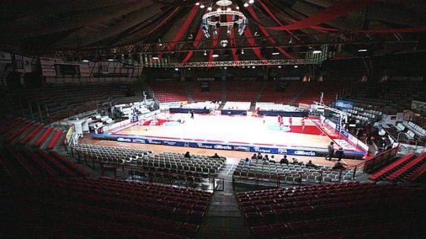 Un'immagine del Pala2A di Varese che ospiterà l'evento.