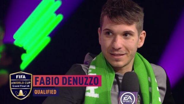 Fabio Denuzzo si è assicurato l'ingresso alle finali Xbox One di FIFA 18.