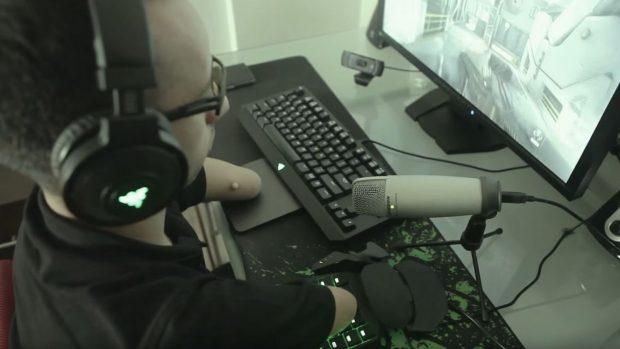 La configurazione hardware di Massimiliano Sechi quando gioca online.