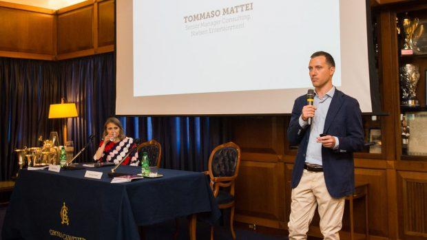 La presentazione dei dati è stata affidata a Tommaso Mattei, Senior Manager Consulting di Nielsen Entertainment.