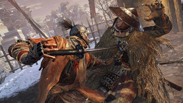 Sekiro: Shadows Die Twice.