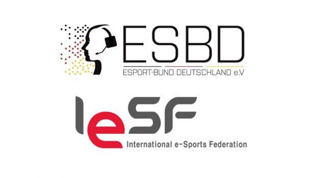 La federazione tedesca di unisce all'IeSF.