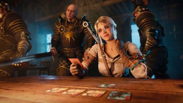 Gwent nasce come un minigame giocato da protagonisti di The WItcher 3. Il consenso raccolto presso il pubblico ha poi suggerito a CD Projekt di trasformarlo in un prodotto a se stante.