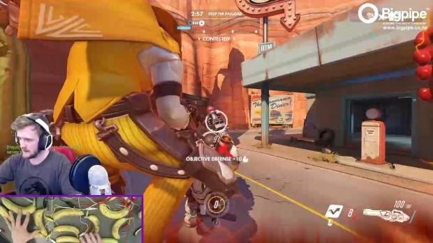 Lo streamer Rudeims è riuscito ad andare oltre, usando delle banane per giocare a Overwatch!