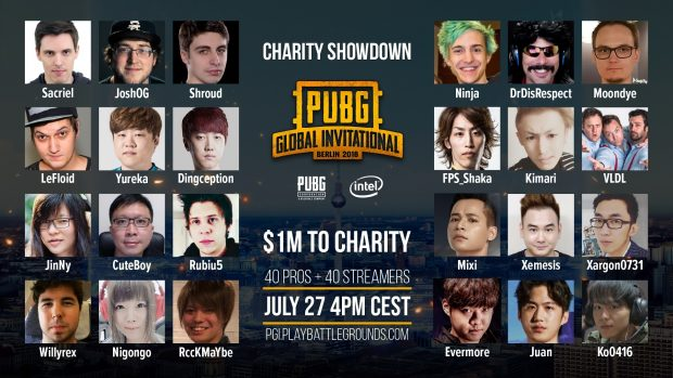 Ecco cosa attende chi assisterà al PGI Charity Showdown.