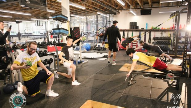 Strutture di questo tipo offrono anche spazio per l'allenamento fisico. Mens sana in corpore sano, dopo tutto.