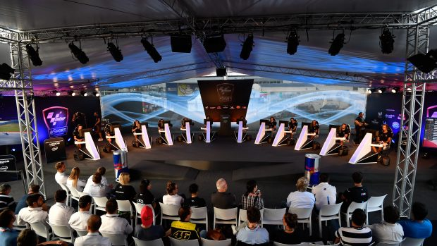 L'arena del MotoGP eSport Championship era nel paddock di Misano, a pochi passi dalla griglia di partenza.