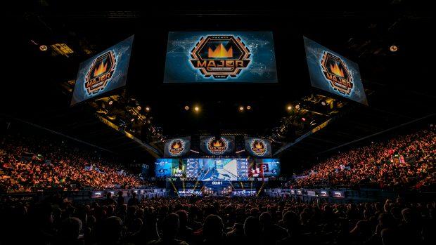 L'SSE Arena di Webmley era sold out: 10000 spettatori al giorno per le fasi finali.
