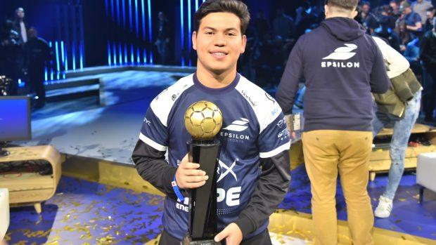 "Ecco il vincitore della Continental Cup presented by PlayStation Joksan ""Joksan-"" Redona."