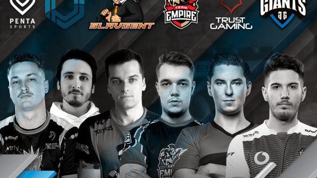 I team stranieri di R& Siege che si affronteranno alla Games Week.