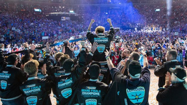 I London Spitfire, vincitori della prima edizione della Overwatch League.