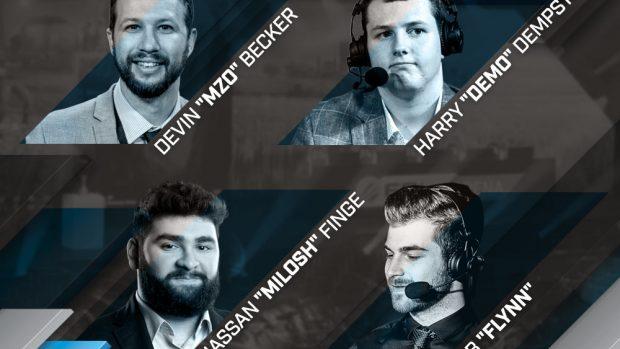 Il cast di commentatori stranieri del torneo è di tutto rispetto.