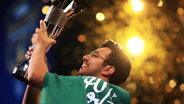 Mosaad Aldossary, il vincitore del montepremi di 250.000 dollari della FIFA eWorld Cup 2018 - Credits fifa.com