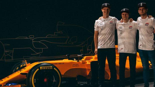 Il Team McLaren virtuale al completo. Enzo ha ottime possibilità di essere un titolare, vista l'offerta diretta che gli è stata fatta, probabilmente insieme a Bono Huis.
