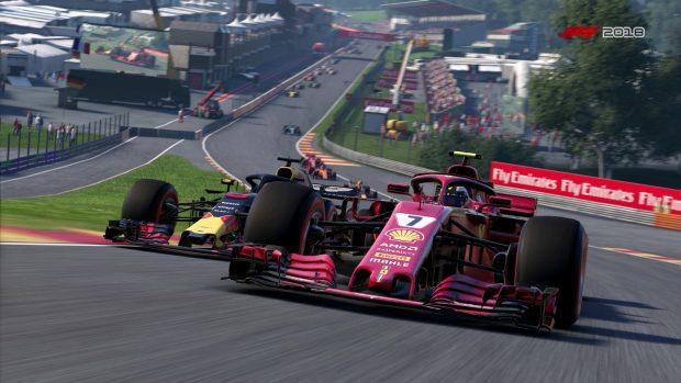F1 2018 è il videogioco di Codemasters sul quale è stata disputata l'F1 New Balance Esports Series.