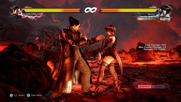 """Tekken 7 è probabilmente il gioco – tra quelli scelti dal PHISGOC – il cui aspetto """"violento"""" è più evidente."""