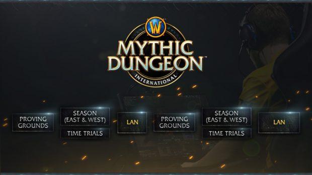La nuova impostazione del Mythic Dungeon International.