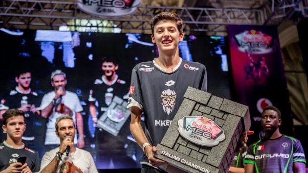 Luca Javier 'Pasti' Pegna ha vinto il Red Bull M.E.O. by ESL a Lucca Comics & Games 2018.
